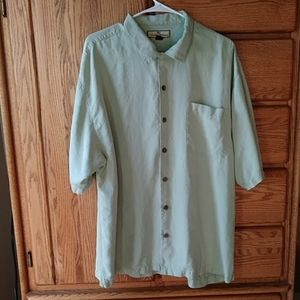 Mens Authentic Tommy Bahama Silk Button Dow